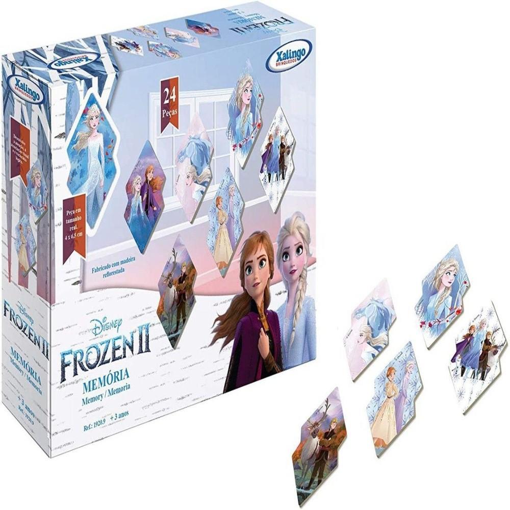 Jogo Da Memória - Frozen 2 - Disney - Xalingo