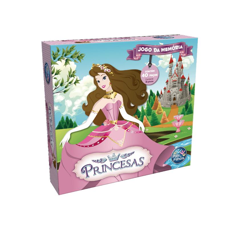 Jogo da Memória - Princesas - Pais  Filhos