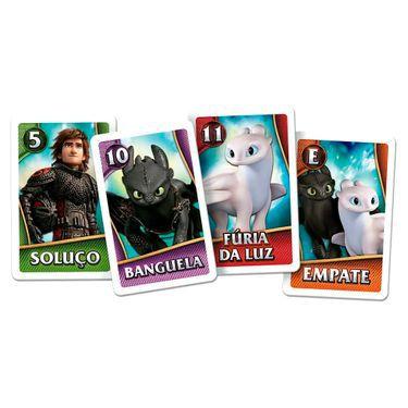 Jogo de Cartas - Batalha dos Heróis - Como Treinar seu Dragão 3 - Copag