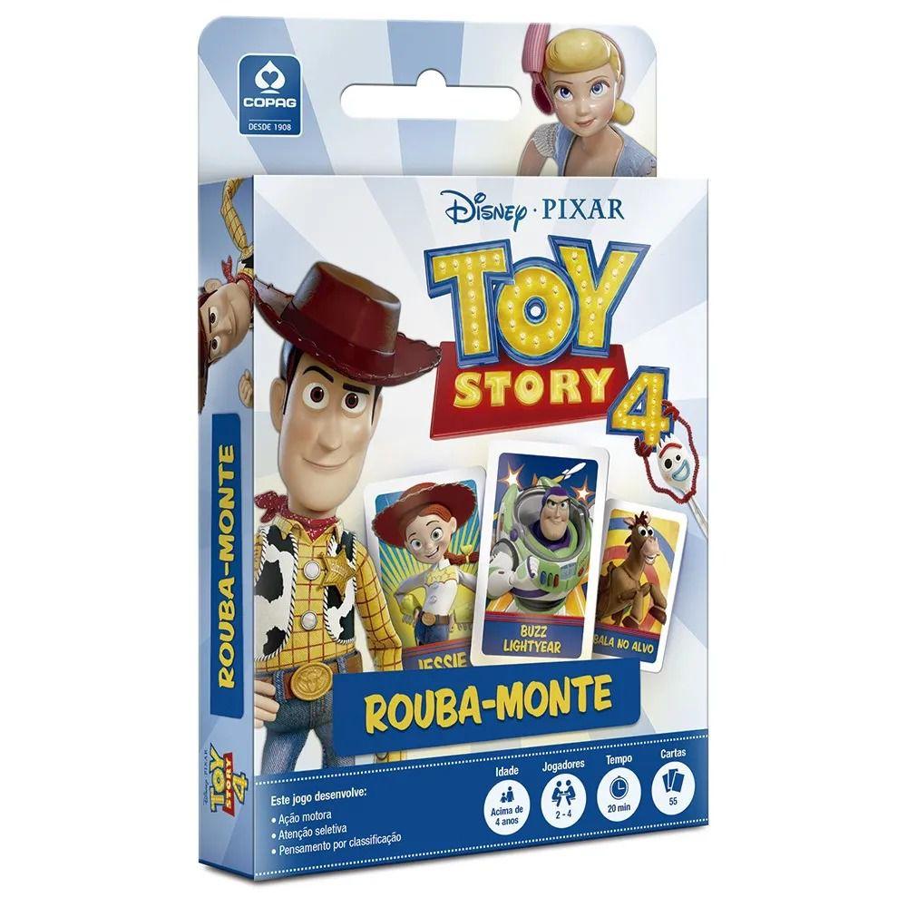 Jogo de Cartas - Rouba Monte - Toy Story 4 - Copag
