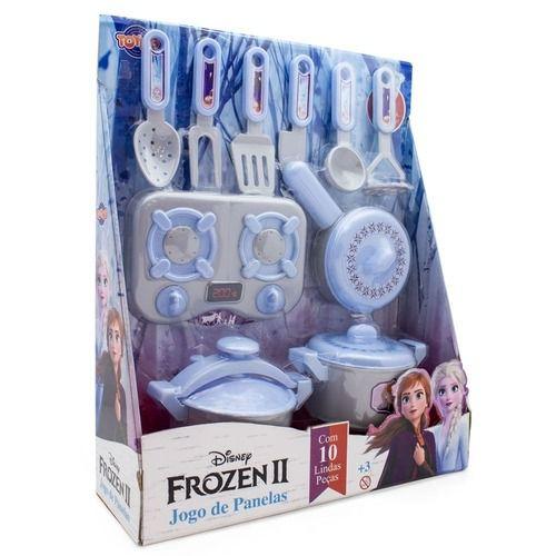 Jogo de Panelas Frozen 2 - 10 Peças - Toyng