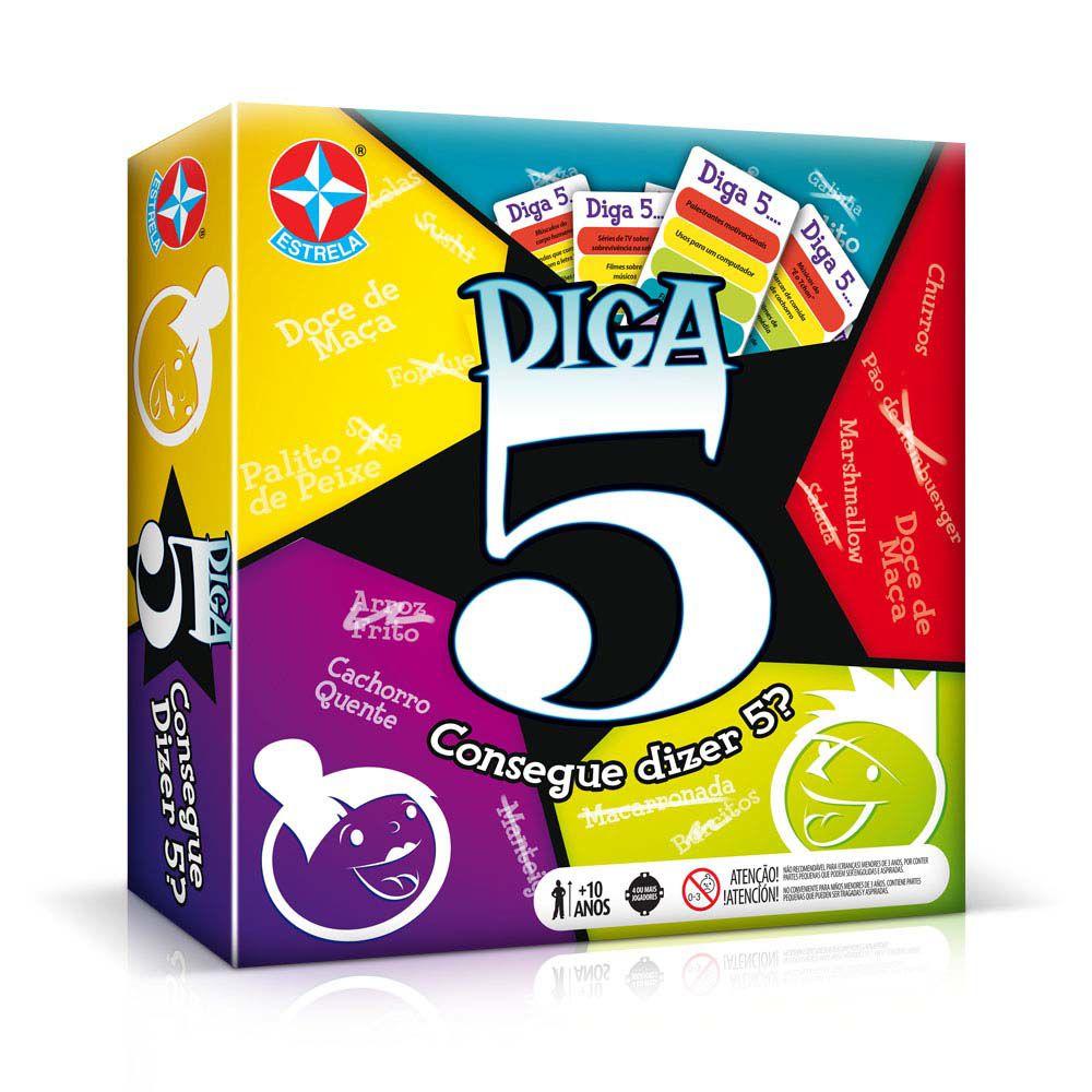 Jogo Diga 5 - Estrela