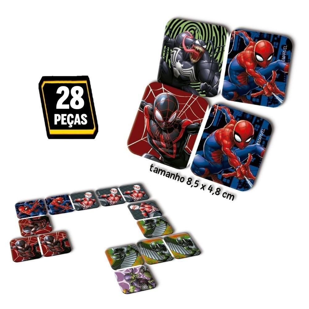 Jogo Dominó - Homem Aranha - Toyster