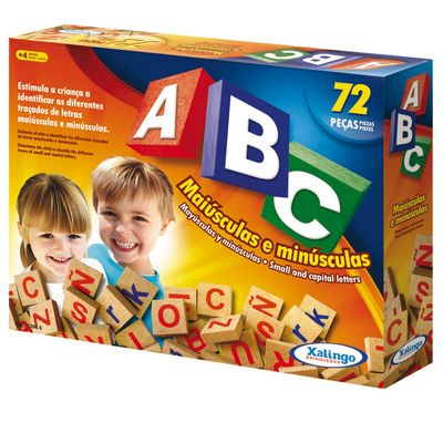 Jogo Educativo ABC - 72 Peças - Xalingo