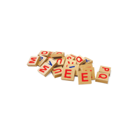 Jogo Educativo - Brincando com Letras - 36 Peças - Xalingo