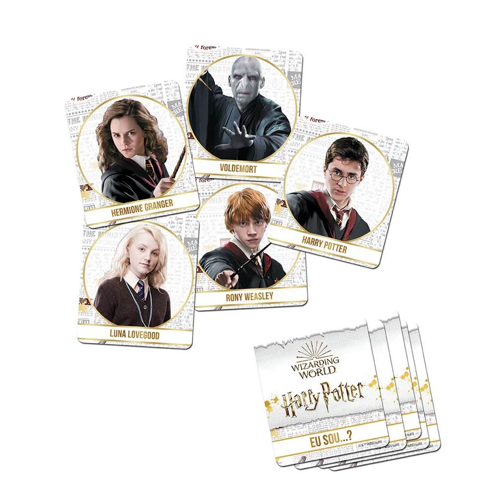 Jogo Eu Sou? - Harry Potter - Estrela