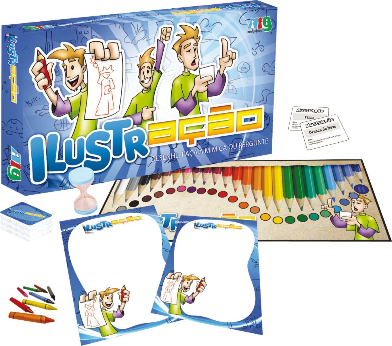 Jogo IlustrAção - Nig Brinquedos