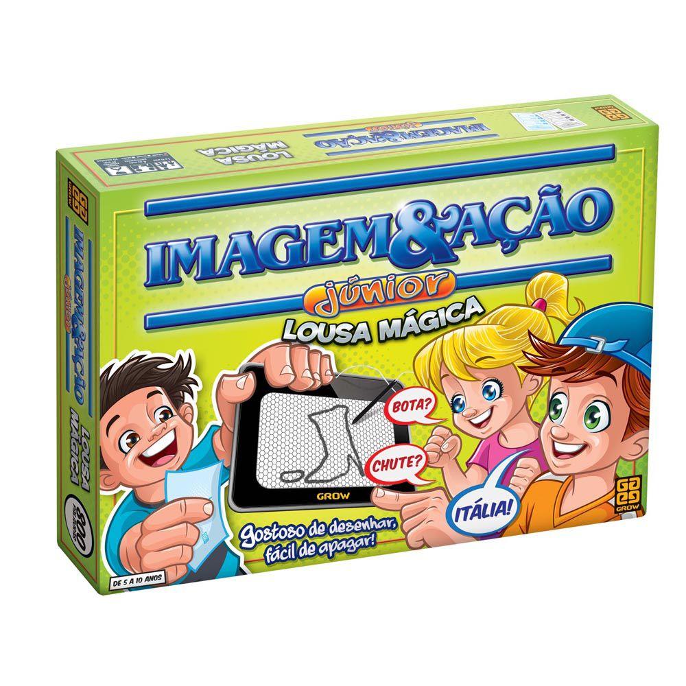 Jogo Imagem e Ação Júnior - Lousa Mágica - Grow