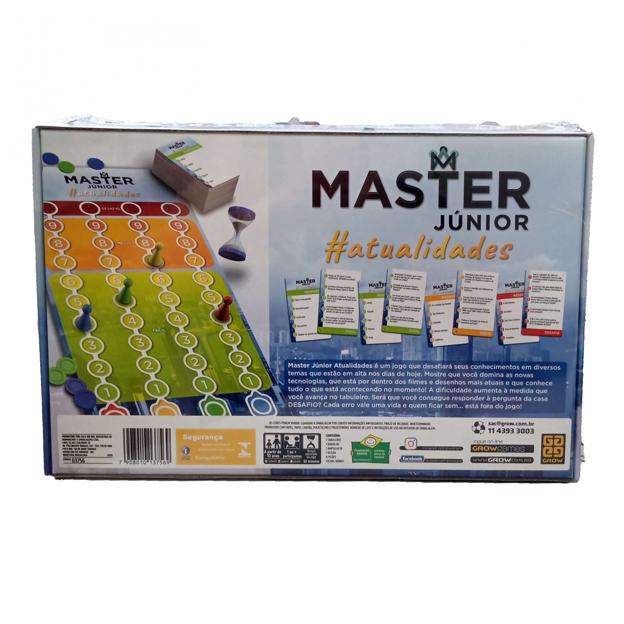Jogo Master Júnior Atualidades - Grow