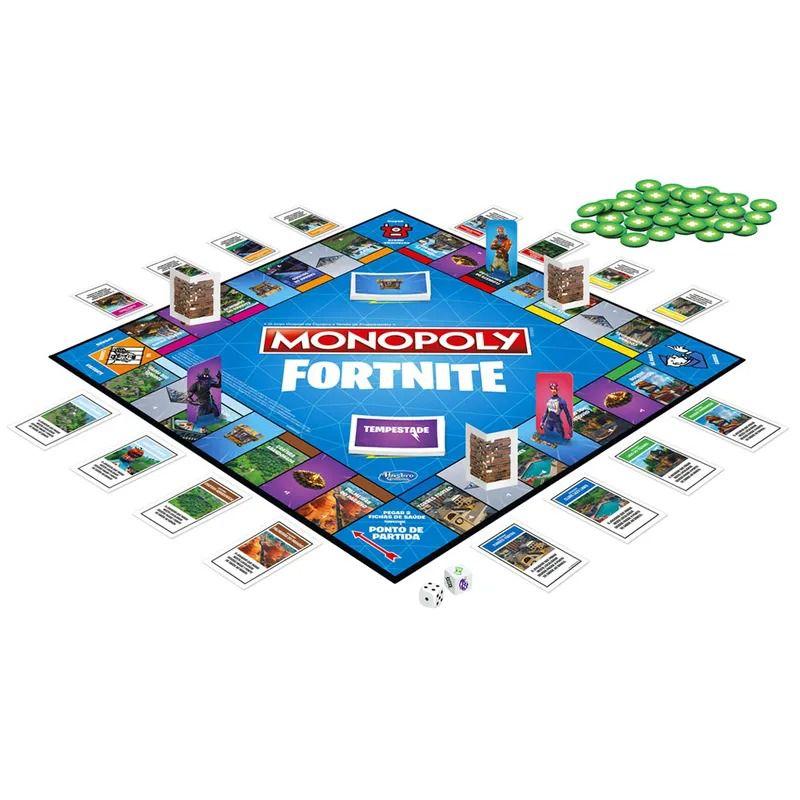 Jogo Monopoly Fortnite - Hasbro