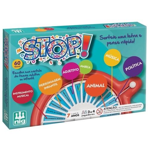 Jogo Stop - Nig Brinquedos