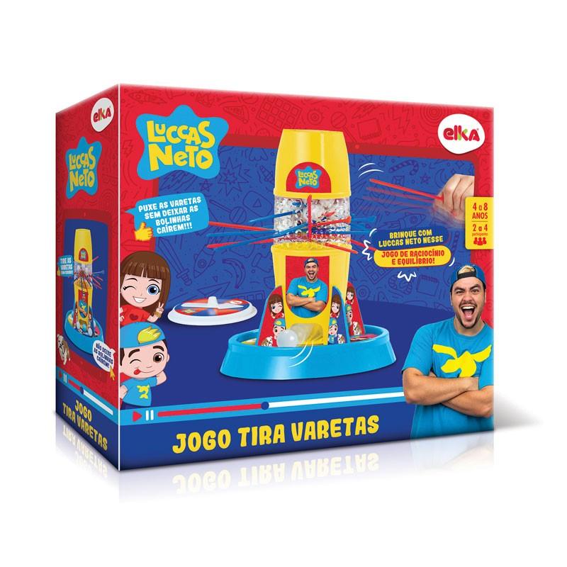 Jogo Tira Varetas - Luccas Neto - Elka