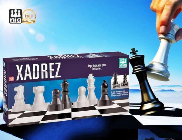 Jogo Xadrez para Iniciantes - Nig Brinquedos