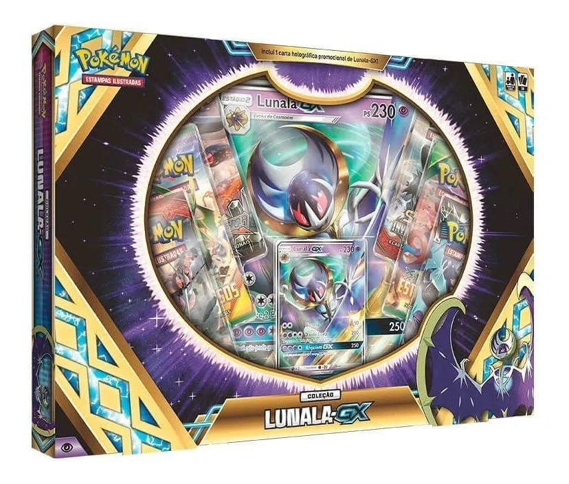 Box Pokémon - Lunala GX - Pokémon - Copag