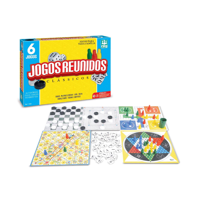 Jogos Reunidos - Nig Brinquedos