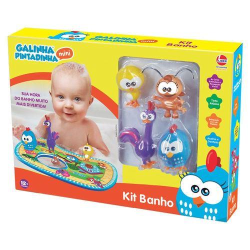 Kit Banho - Galinha Pintadinha - Líder Brinquedos