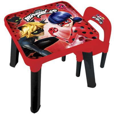 Conjunto Mesinha e Cadeira - Miraculous - Ladybug - Fun