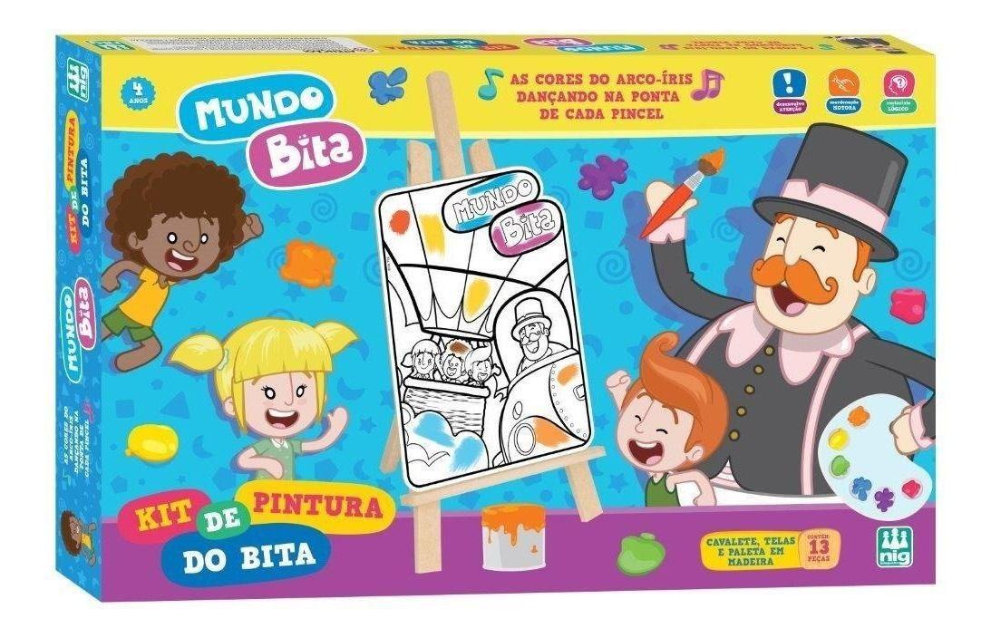 Kit de Pintura do Bita - Nig Brinquedos