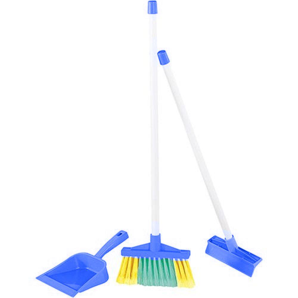 Kit De Limpeza - Simples - Azul - Calesita