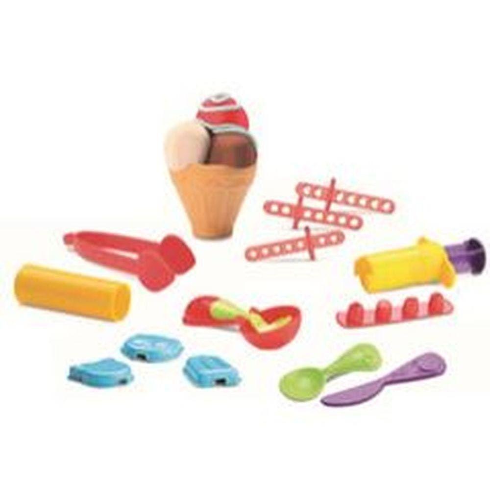 Kit Massinha de Modelar - Sorveteria da Turma da Mônica - Diver Toys