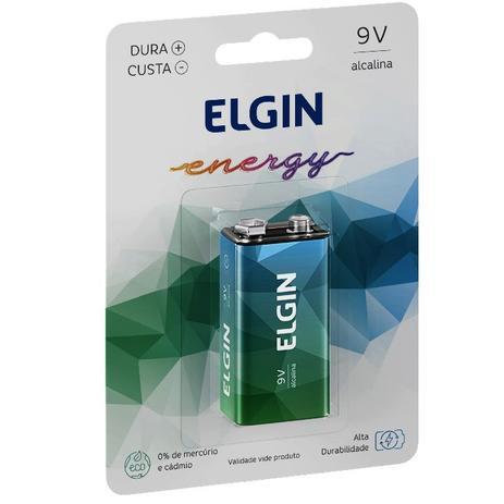 Pilha Alcalina 9V - 1 unidade - Elgin