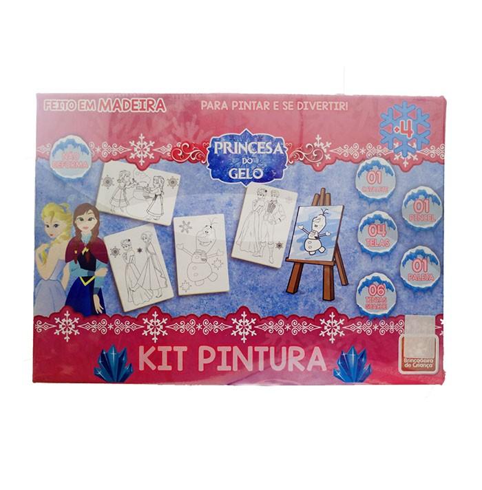 Kit Pintura - Princesa do Gelo - Brincadeira de Criança