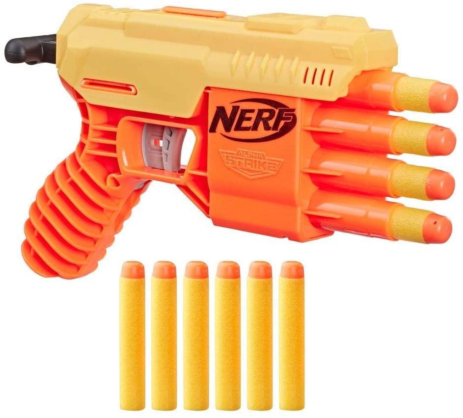 Lança Dardo Nerf - Alpha Strike - Fang Q5-4 - Hasbro