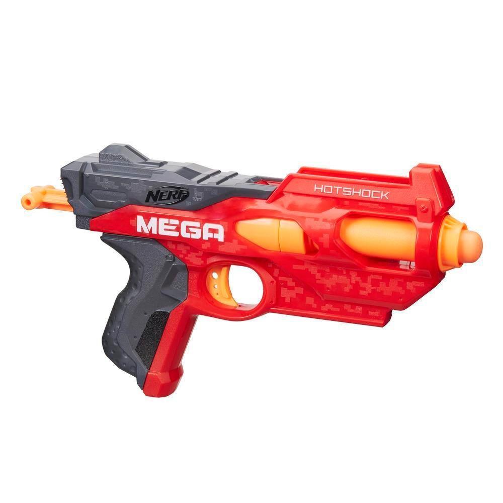 Lança Dardo Nerf - Mega Hotshock - Hasbro