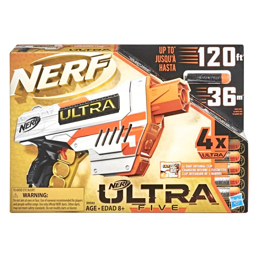 Lançador de Dardo Nerf - Ultra Five - Hasbro