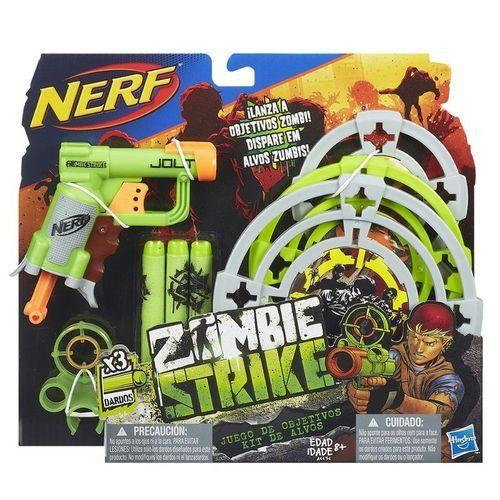 Lançador de Dardo Nerf Zombie com Alvos - Hasbro