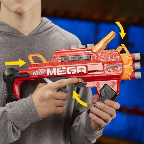 Lança Dardos - Nerf - Accustrike Mega Bulldog - Hasbro