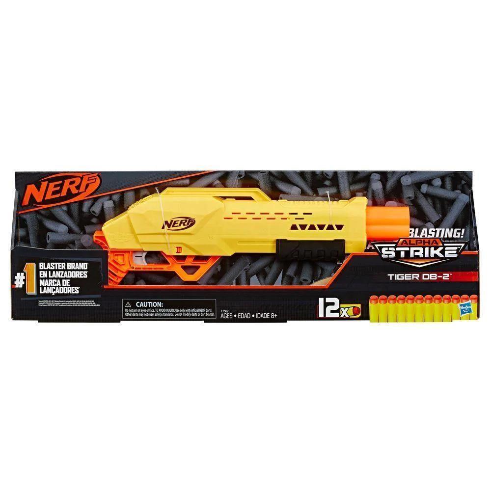 Lança Dardos Nerf - Alpha Tiger - Hasbro