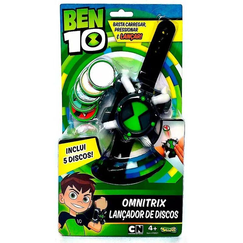 Lançador de Discos - Ben 10 Omnitrix - Sunny