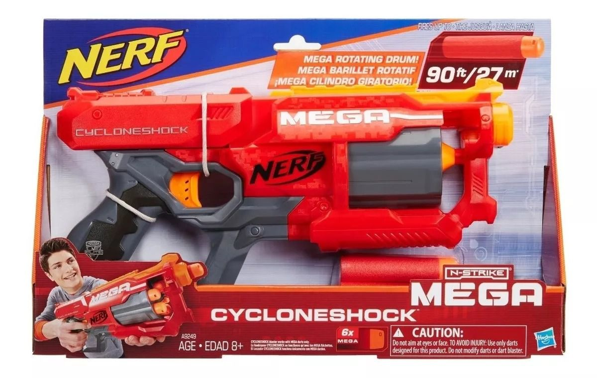 Lançador Nerf Mega Cyclone - Hasbro