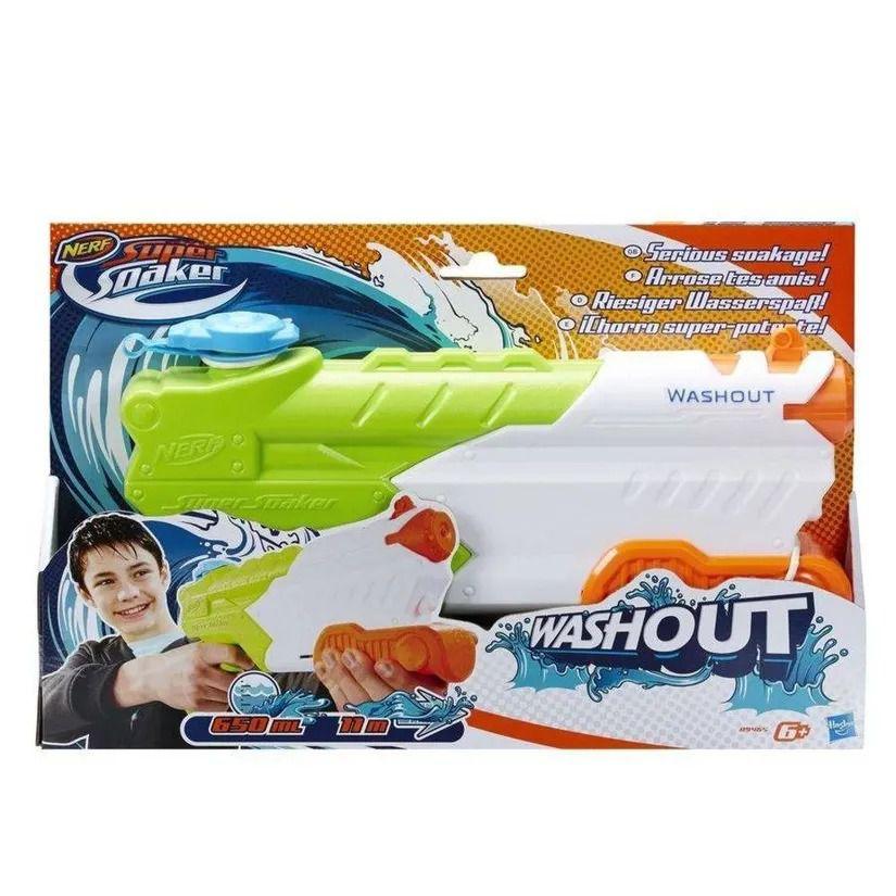 Lançador Nerf Super Soaker - Washout - Hasbro