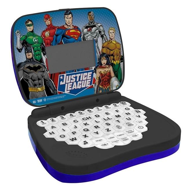 Laptop Infantil - DC - Liga da Justiça - Candide