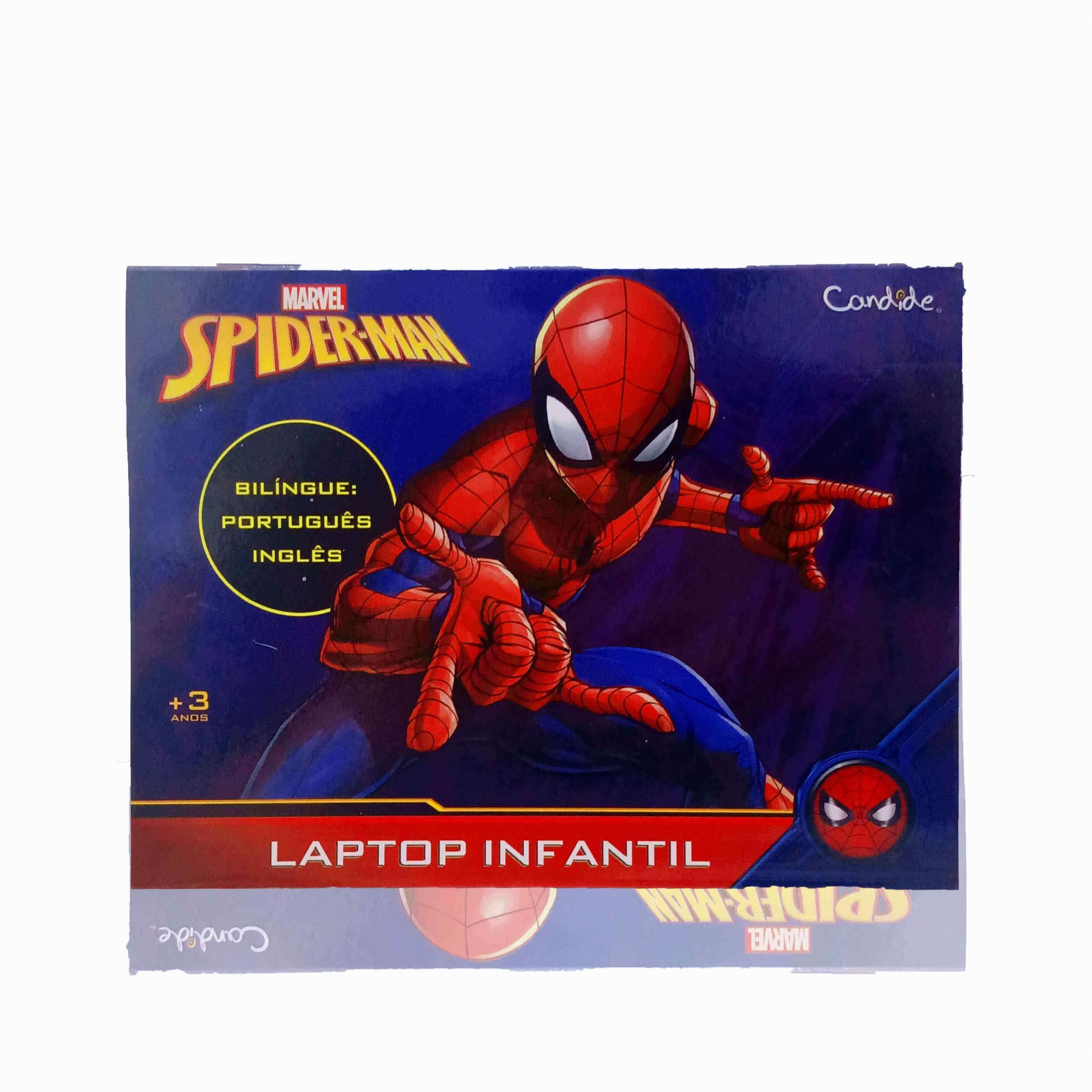 Laptop Infantil - Marvel - Spider-Man - Candide