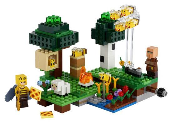 Lego Minecraft - A Fazenda de Abelhas - 238 peças - 21165