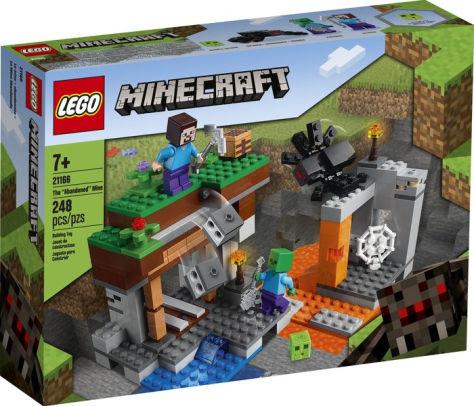 Lego Minecraft - A Mina Abandonada - 248 peças - 21166