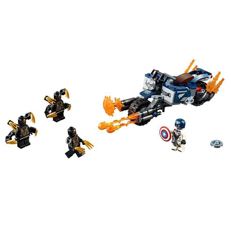 Lego - Vingadores Ultimato - Capitão América: Ataque Outriders - 76123