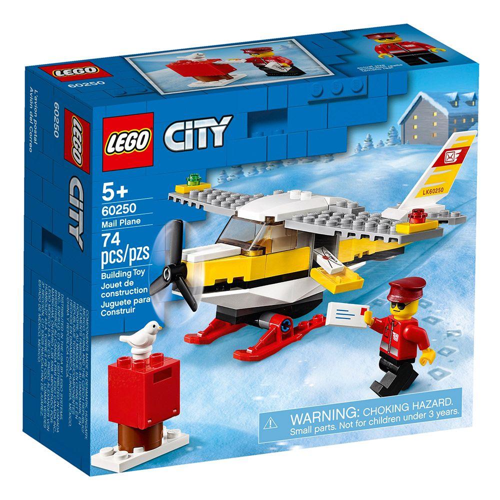Lego - City - Avião do Correio - 60250
