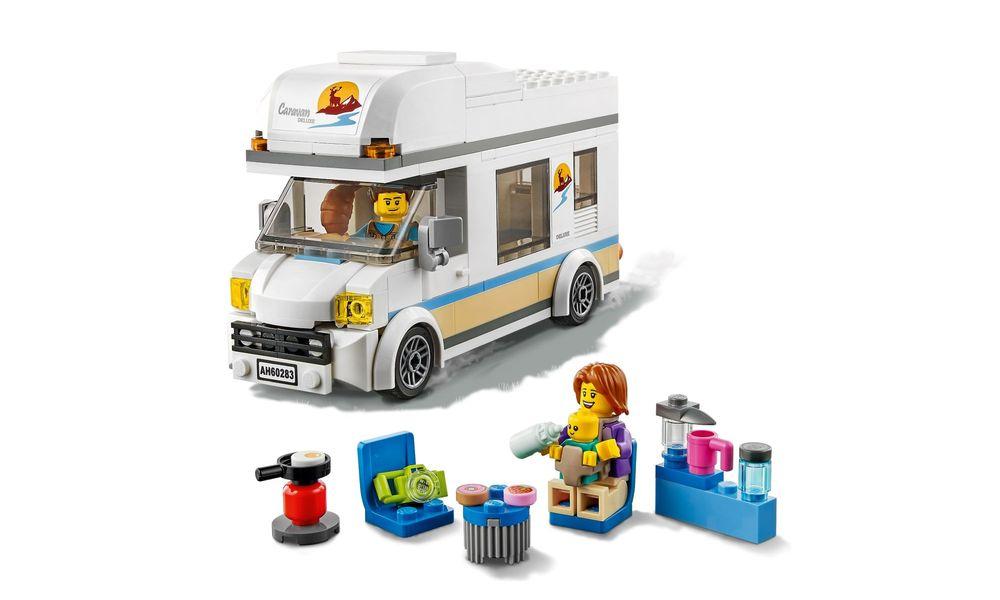 Lego City - Trailer de Férias - 190 Peças - 60283