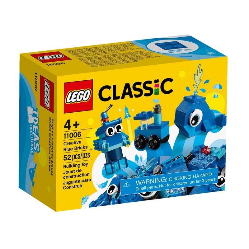 Lego Classic - Blocos Azuis Criativos - Lego