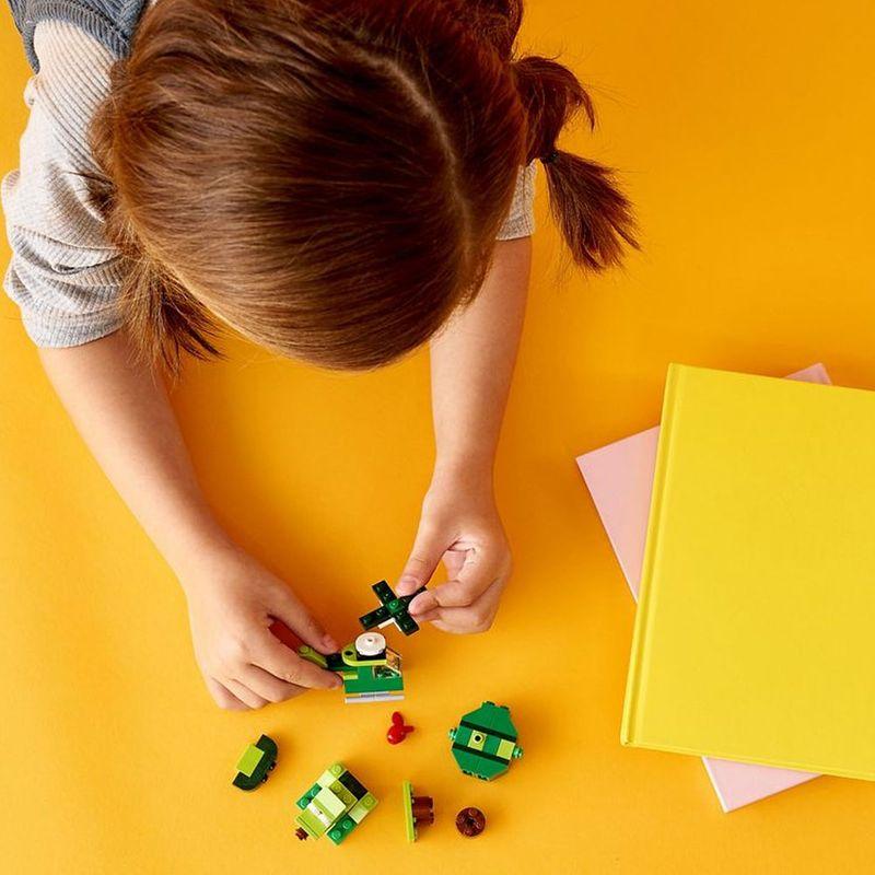 Lego Classic - Blocos Verdes Criativos - Lego