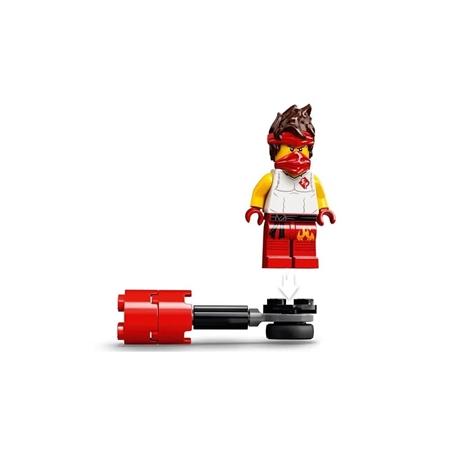 Lego Ninjago - Conjunto de Combate Épico - Kai vs Skulkin - 61 Peças - 71730
