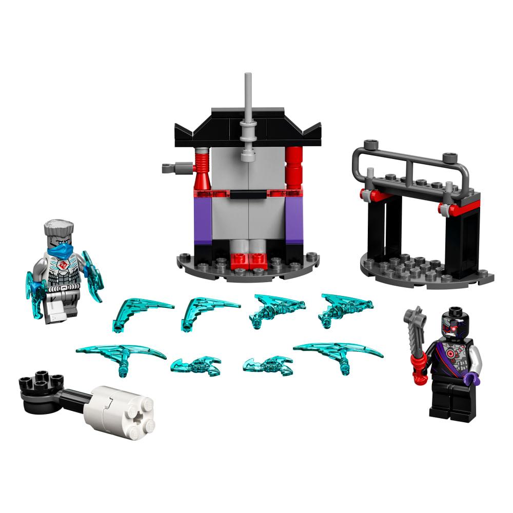 Lego Ninjago - Conjunto de Combate Épico - Zane vs Nindroid - 61 Peças - 71730