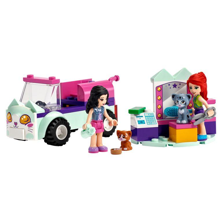 Lego Friends - Cabeleireiro Móvel para Gatos - 60 Peças - 41439