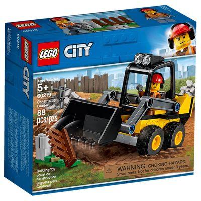 Lego City - Trator Carregador de Construção - 60219