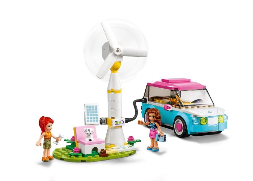 Lego Friends - Carro Elétrico da Olivia - 183 Peças - 41443