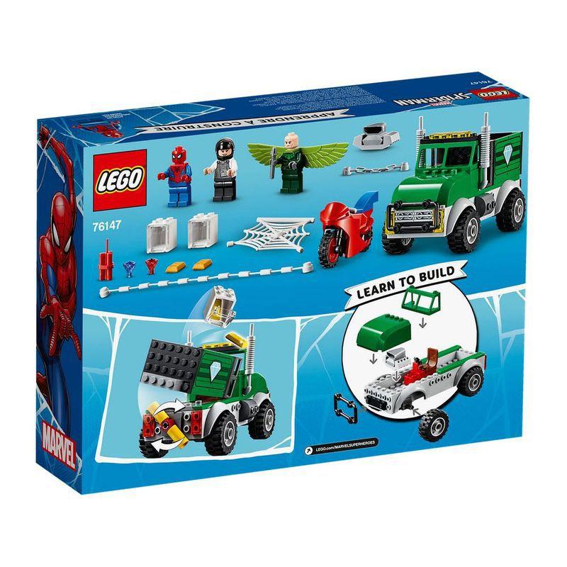 Lego - Marvel - Homem Aranha - O Assalto ao Caminhoneiro de Vulture - 76147